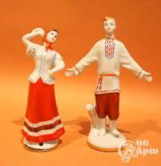 "Скульптуры ""Русский танец"""